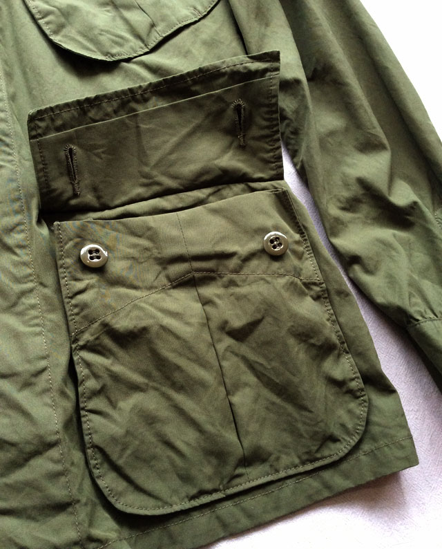 BDUジャケット オリーブ BDU Jacket Olive/KAPTAIN SUNSHIN