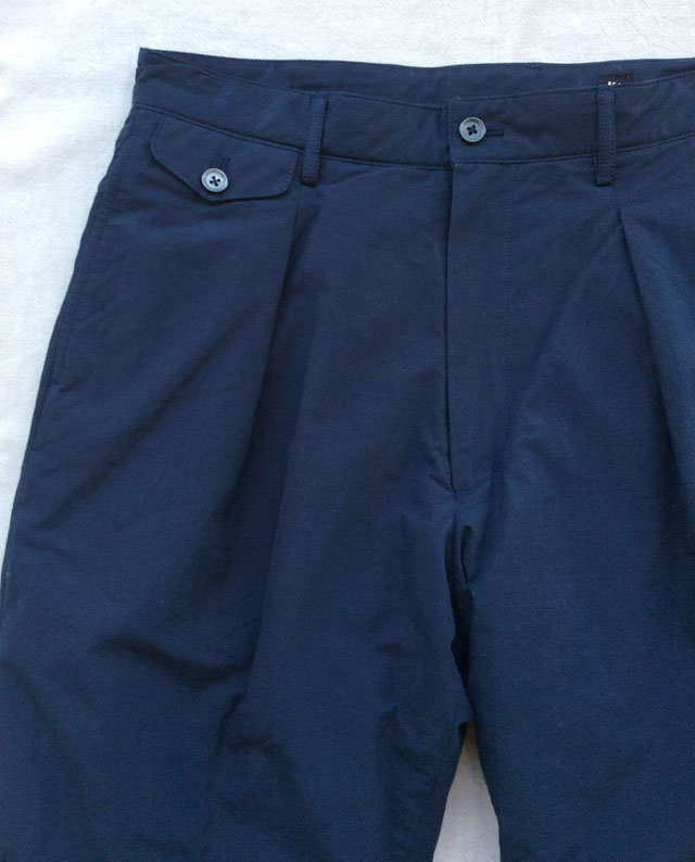 Padding Traveller Trousers Navy