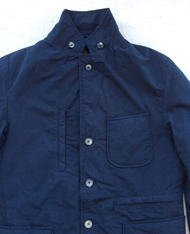 Padding Traveller Jacket Navy