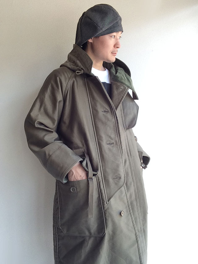 KAPTAIN SUNSHINE Cold Weather Coat Field Green