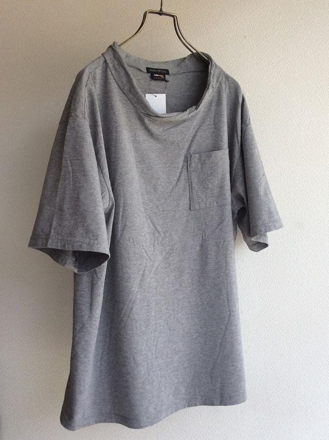 NAPRON ダブルネックTシャツ