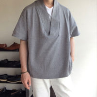 HAPPI T-SHIRT Gray/NAPRON