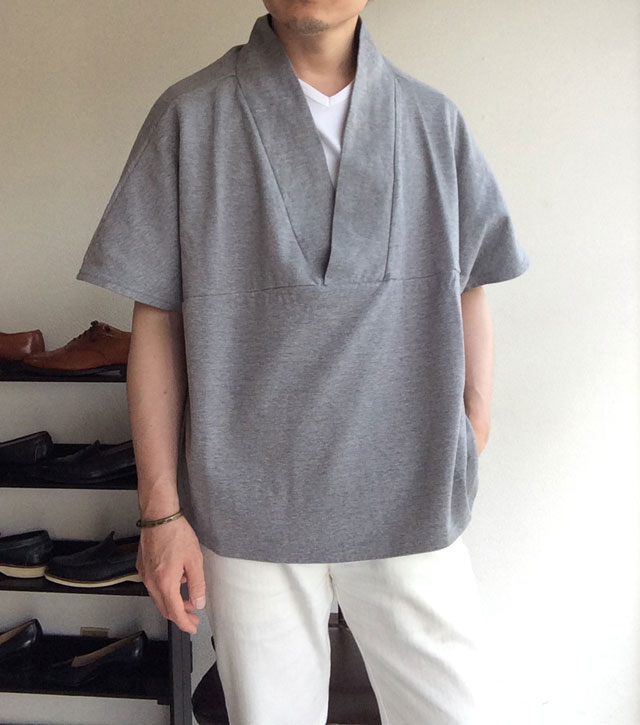 HAPPI T-SHIRT Gray/NAPRON