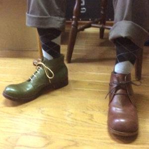 マメチコとヒラキヒミのおでこ靴受注会