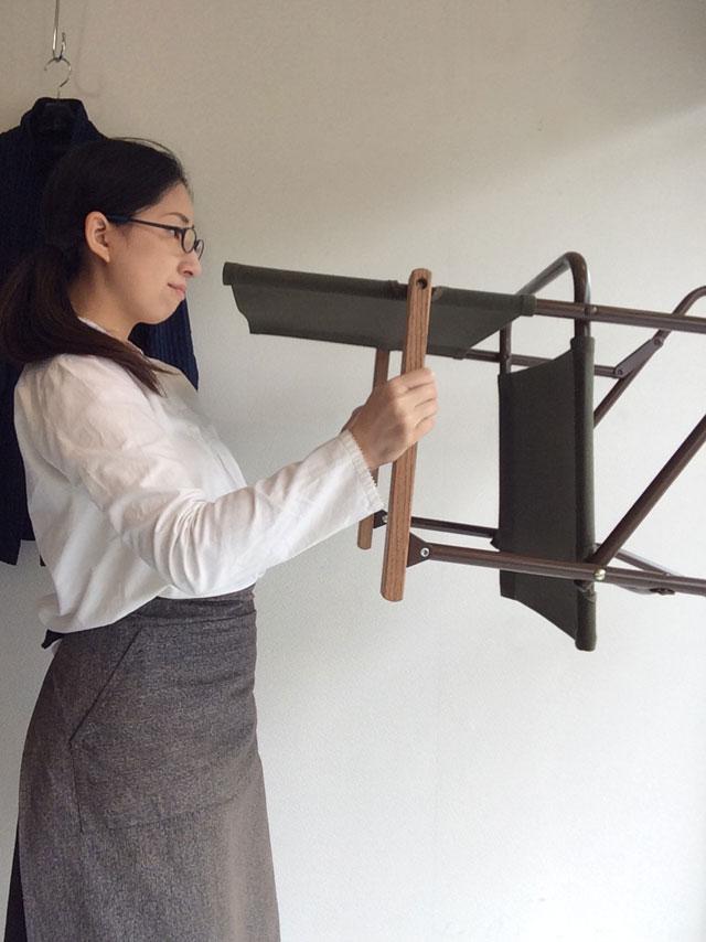 折り畳み式ミリタリーチェア
