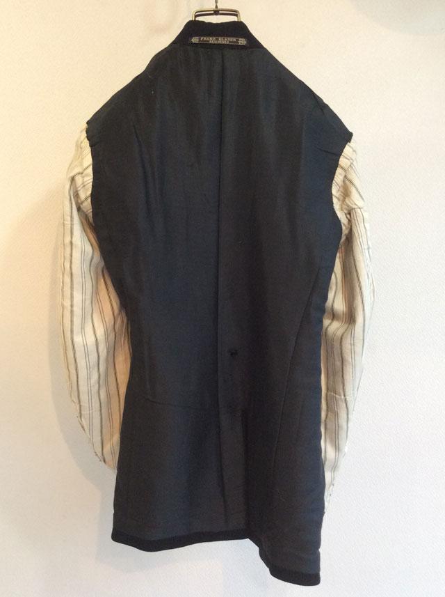 1940's German Wool Tailored Jacket Black
