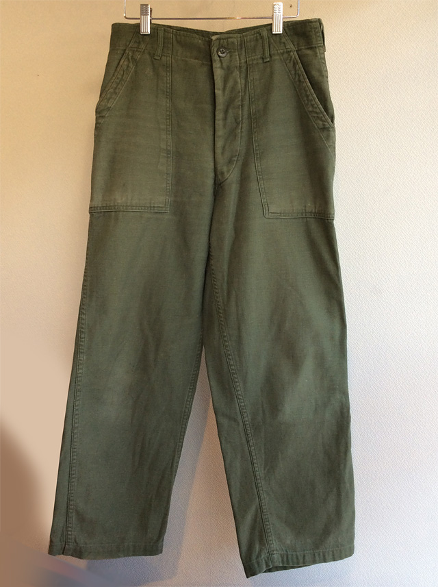 1970's U.S Military Baker Pants Khaki