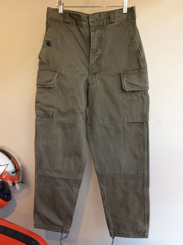 1970's French Military Pants M-64 Khaki