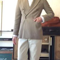 1970年代 イタリア製ウールテーラードジャケット