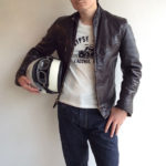 1960-1970's Leather Rider's jacket