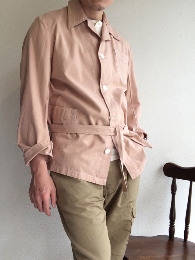 1970's Grecian Military Hospital Sleeping Jacket