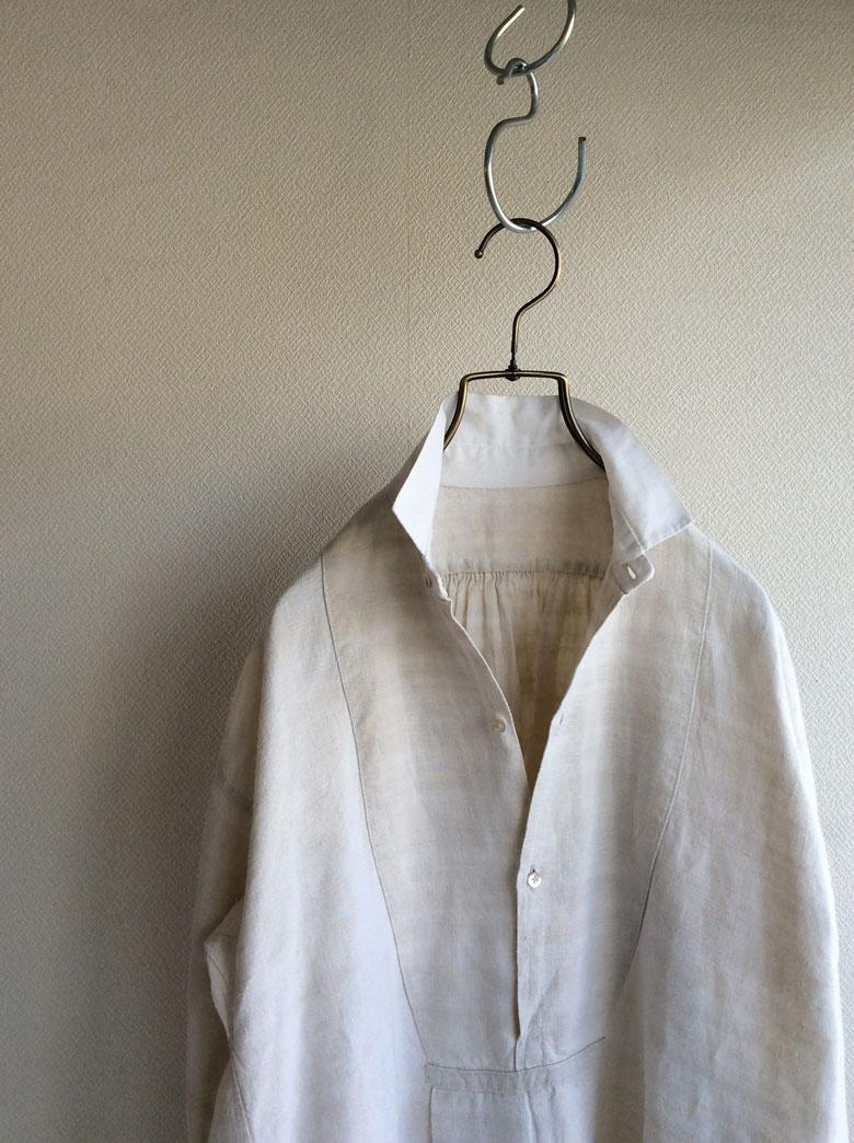 フランスアンティークシャツ