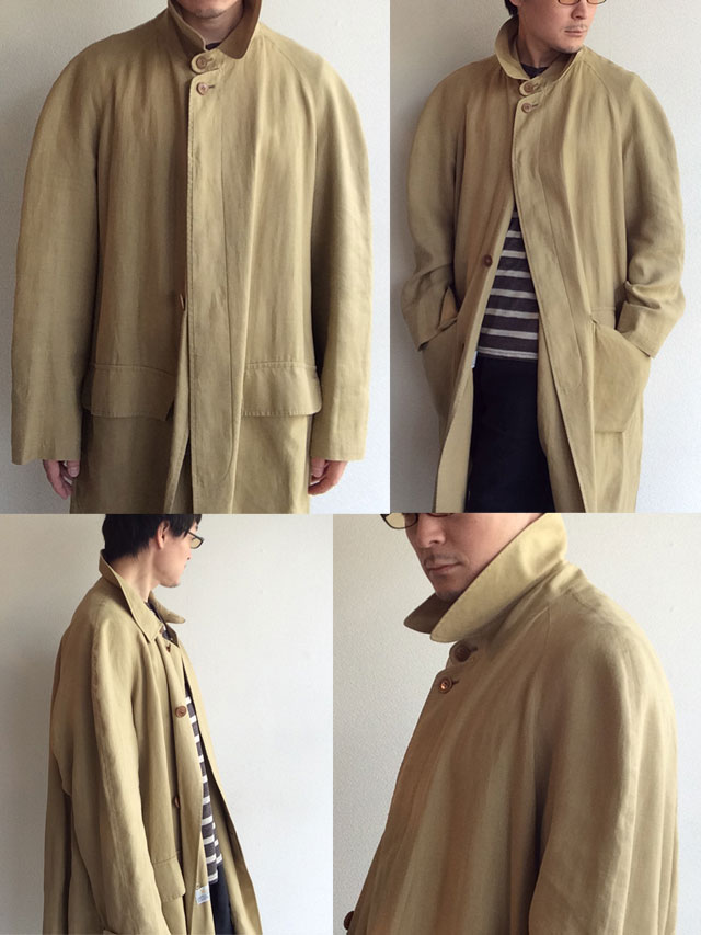 1970's British Linen Duster Coat by Aquascutum