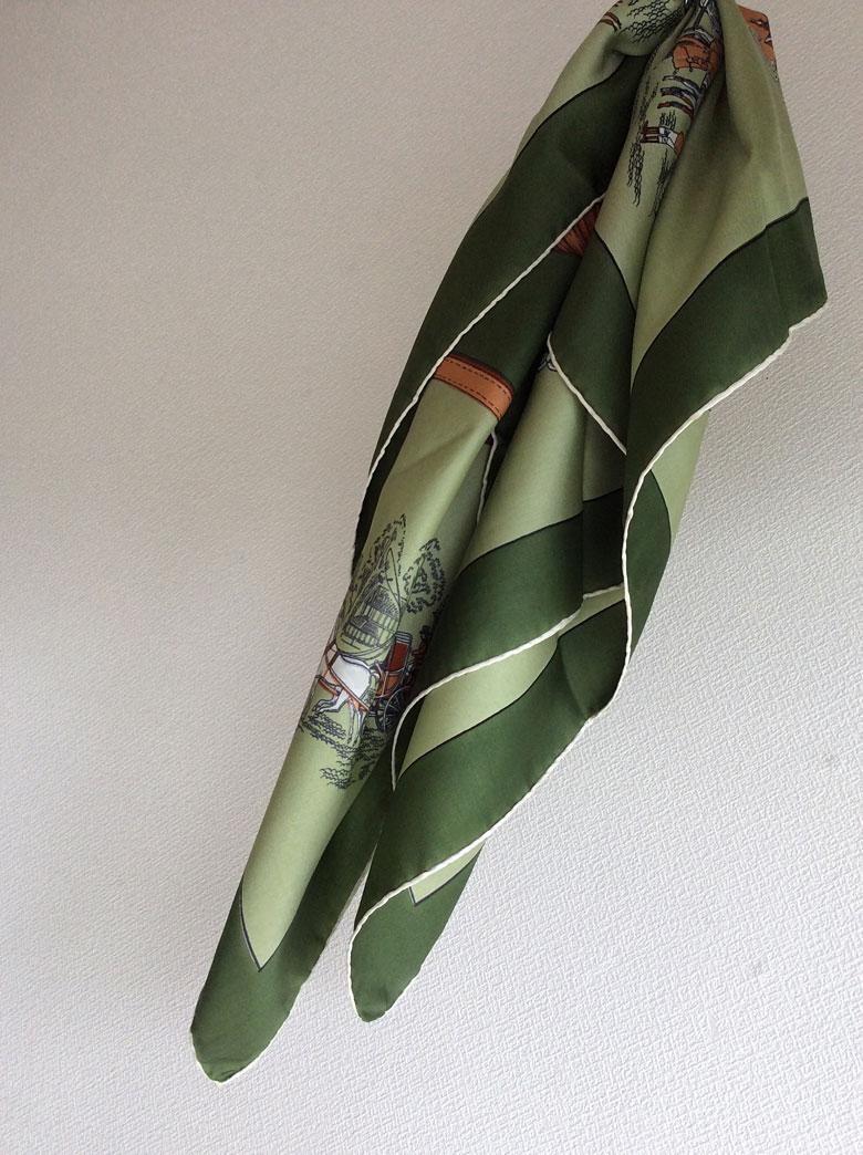 1980年代フランス シルクスカーフ