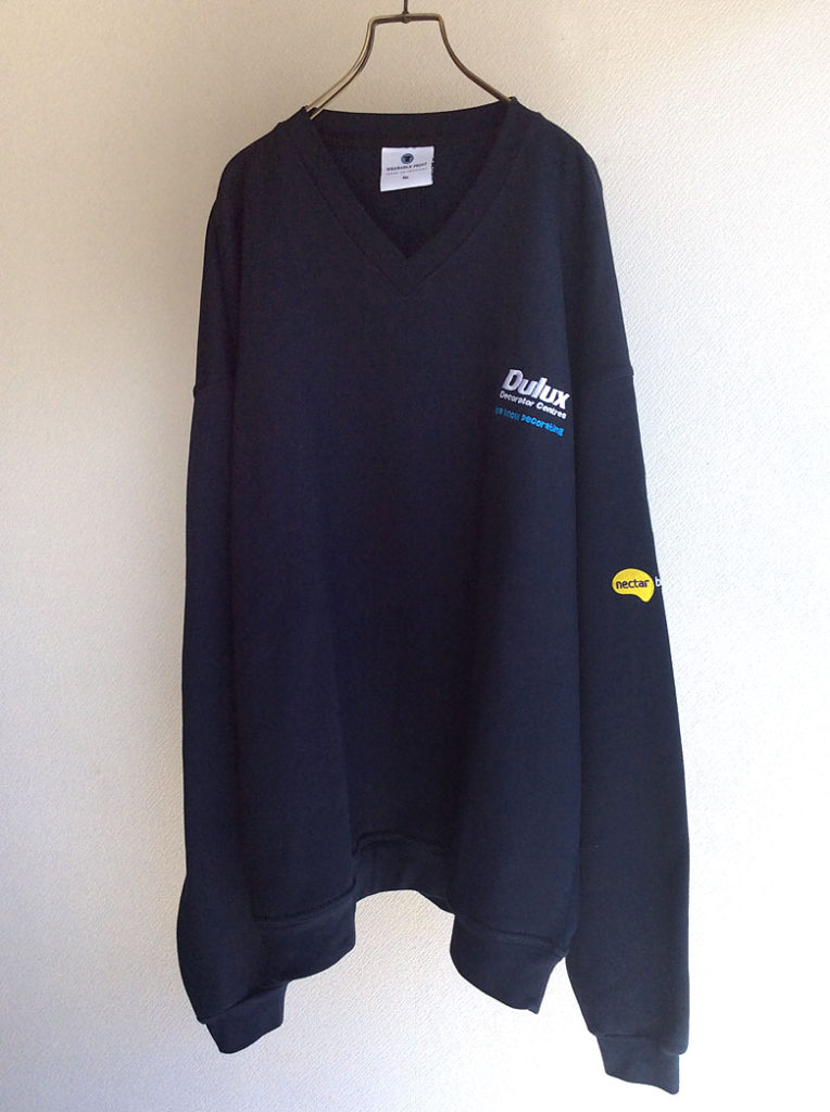 1990-2000's British Oversized Sweat Shirt Navy