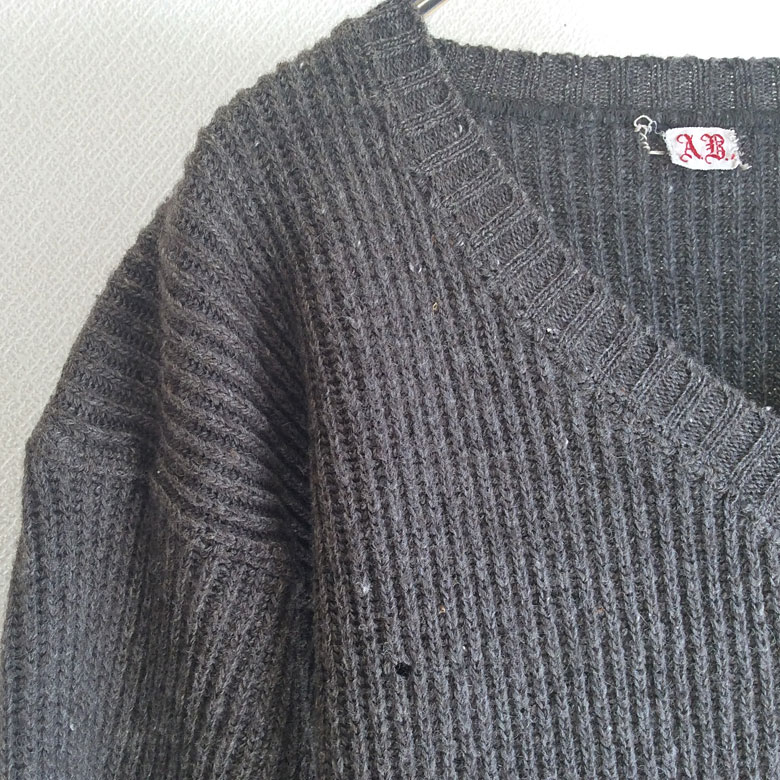 1940's Swedhsh Military Prisoner's Numbering Knit