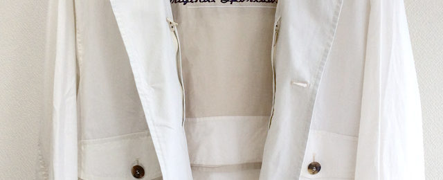 1980-1990's U.S Drizzler Blouson by McGREGOR White