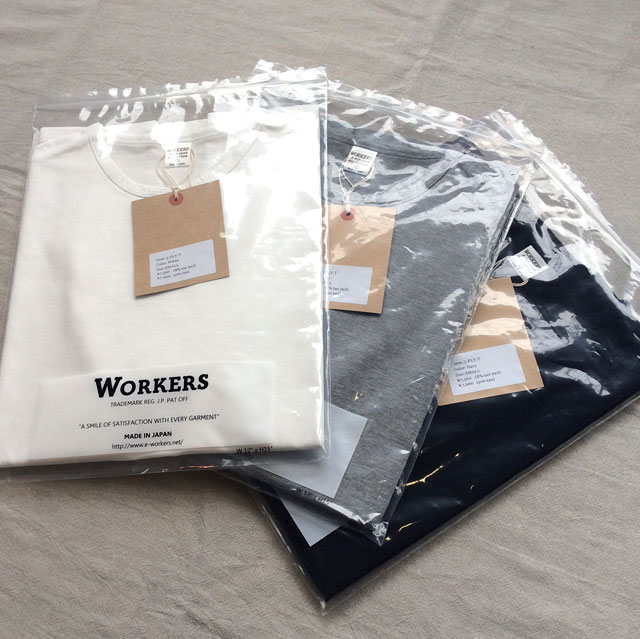 3-PLY-Tシャツ Workers