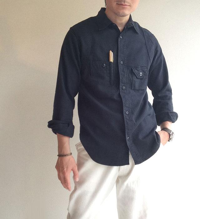 シガレットポケットシャツ Workers