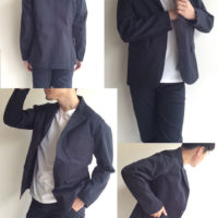 Lounge Jacket Navy Chino/Workers