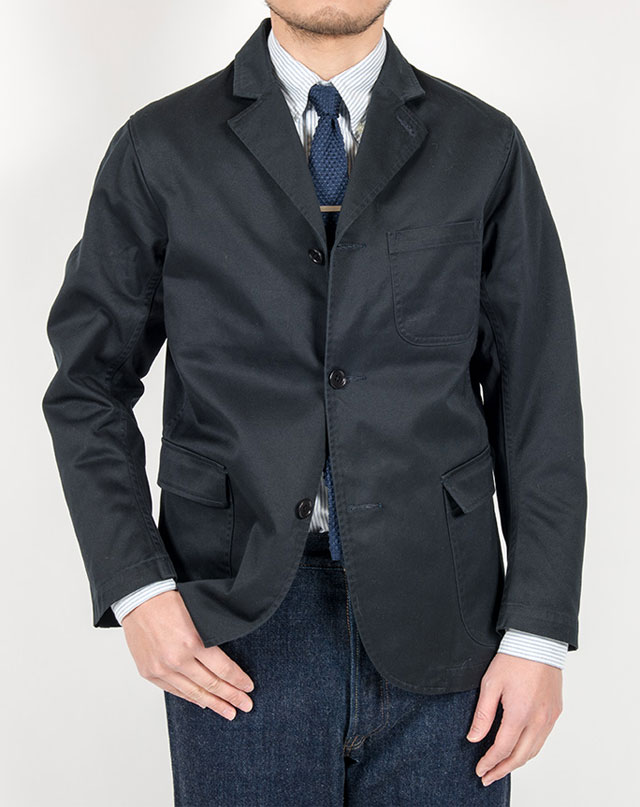 Lounge Jacket Navy Chino