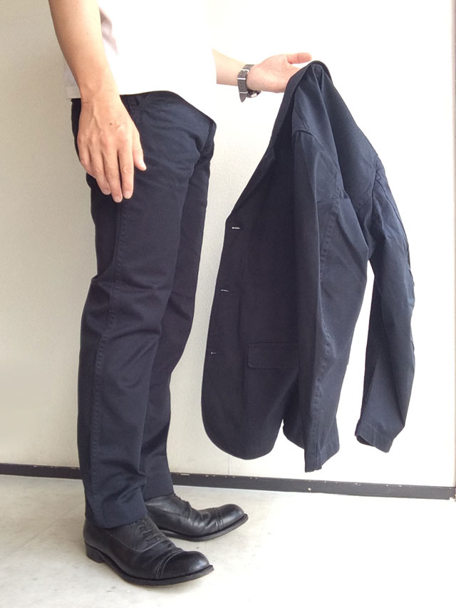 Officer Trousers, Slim, Type 2, Navy Chino