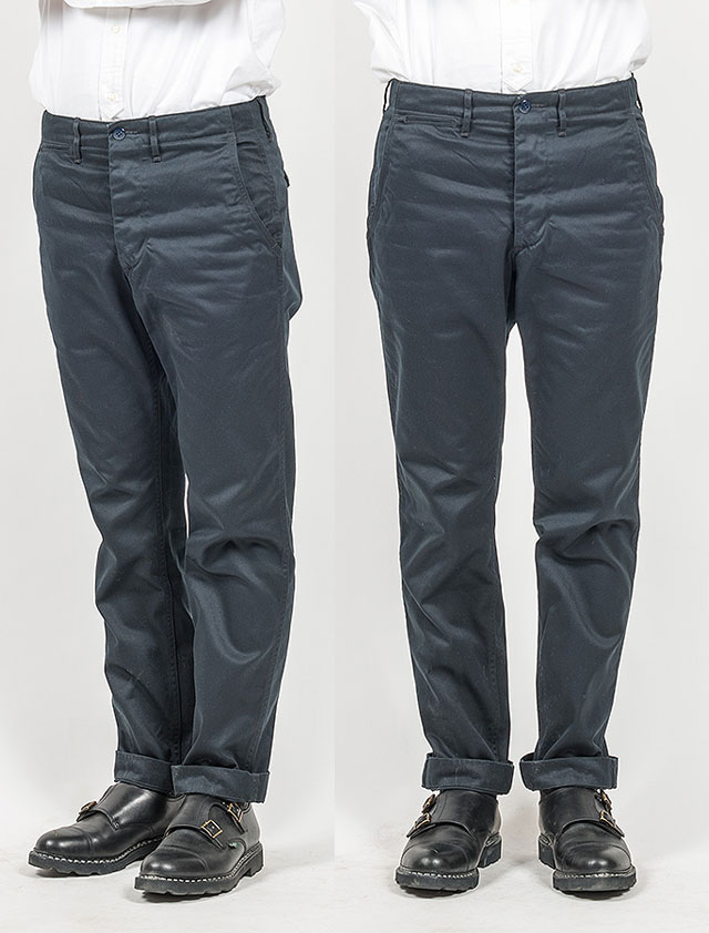 Officer Trousers, Slim
