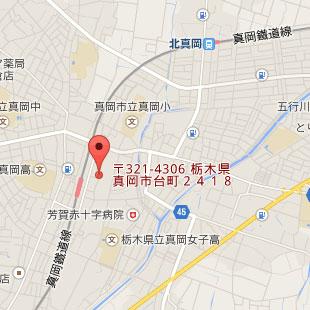 お店の地図のイメージ
