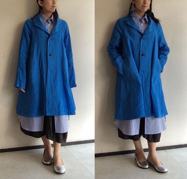 Raglan Linen Coat