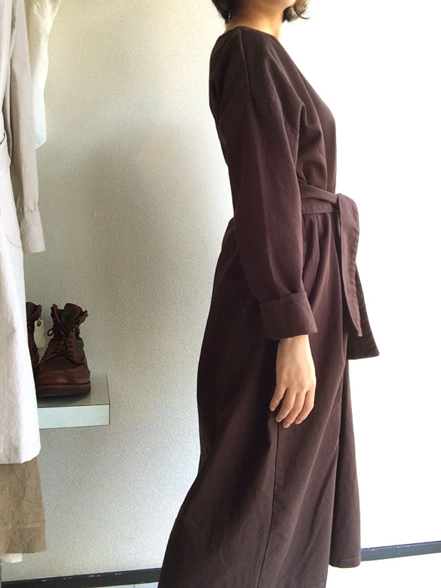 Smock Dress with Belt BYarmo