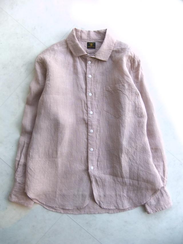 リネンイージーシャツ サクライロ linen easy shirt 2015 sakurairo