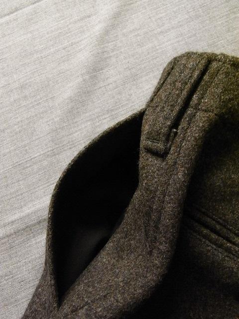DAファクトリーウールパンツ da factory wool pants charcoal DjangoAtour