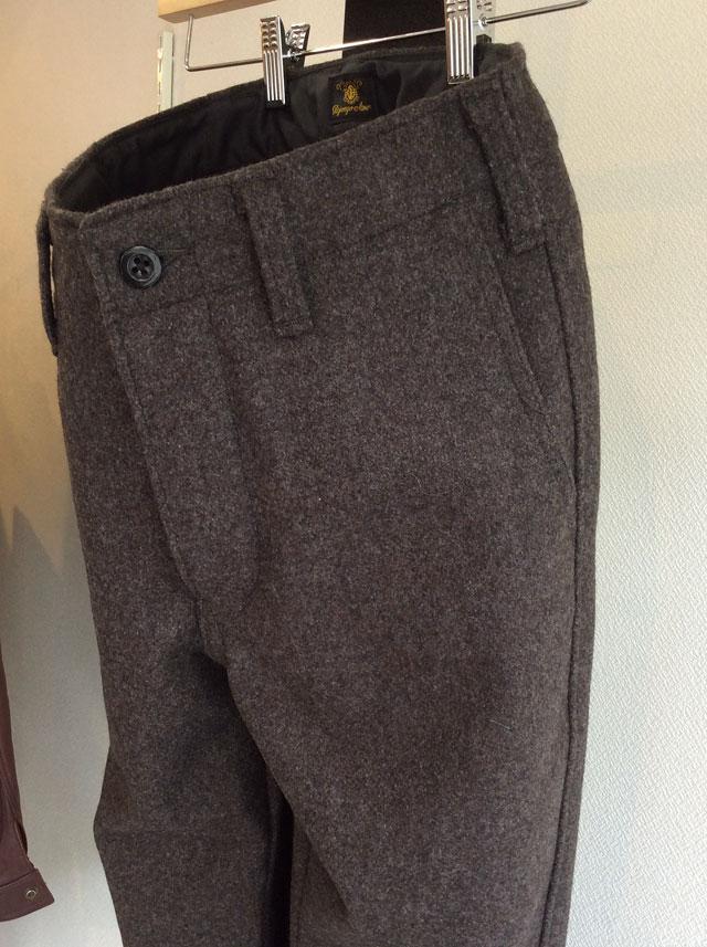 DAファクトリーウールパンツ da factory wool pants DjangoAtour