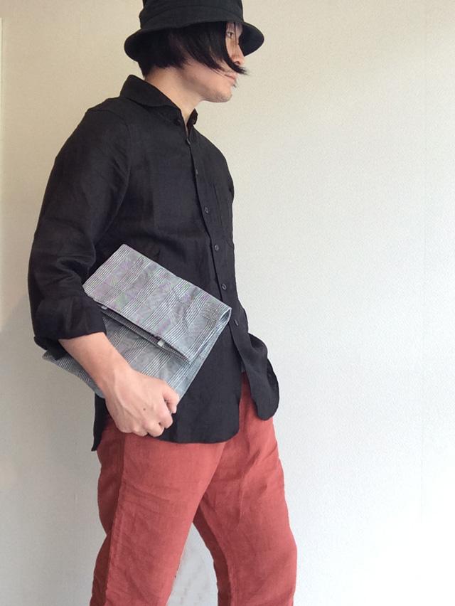 DjangoAtourリネンシャツ