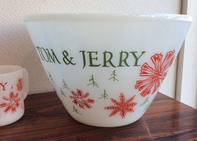 Firekingファイヤーキング クリスマスTom&Jerryパンチボウル・パンチマグ