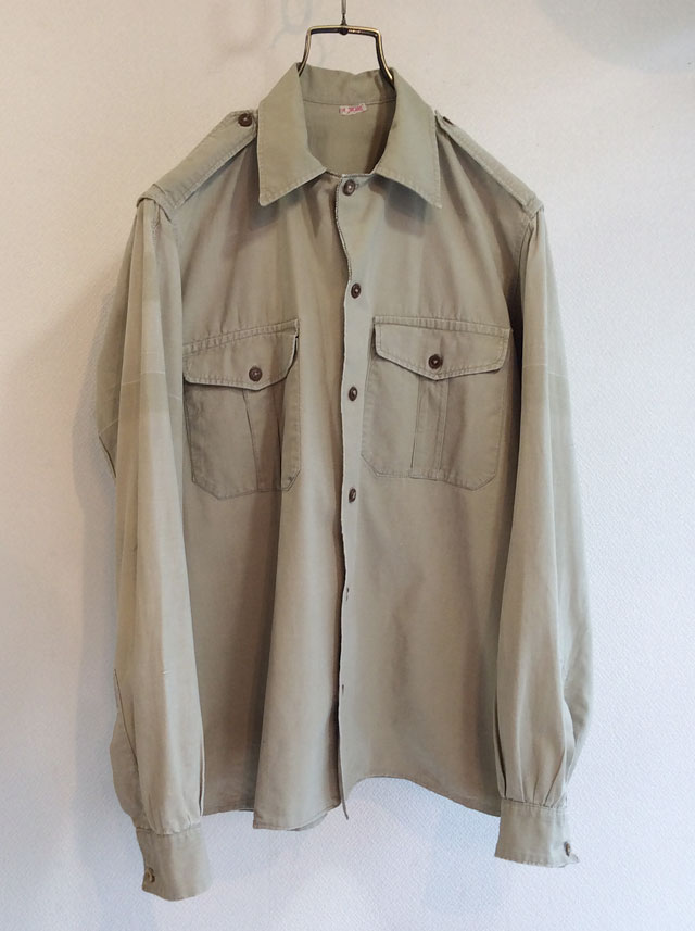 1960's French Army Shirt