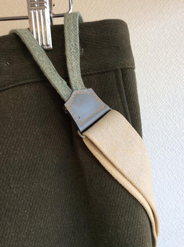 1970's Austrian Shooting Trousers Khakish Gray