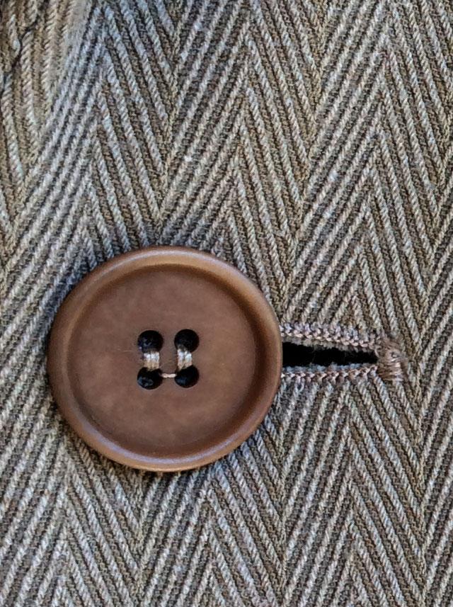 1970's Italian Wool Tailored Jacket Light Grey