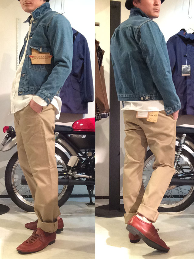workersDenim 着用画像