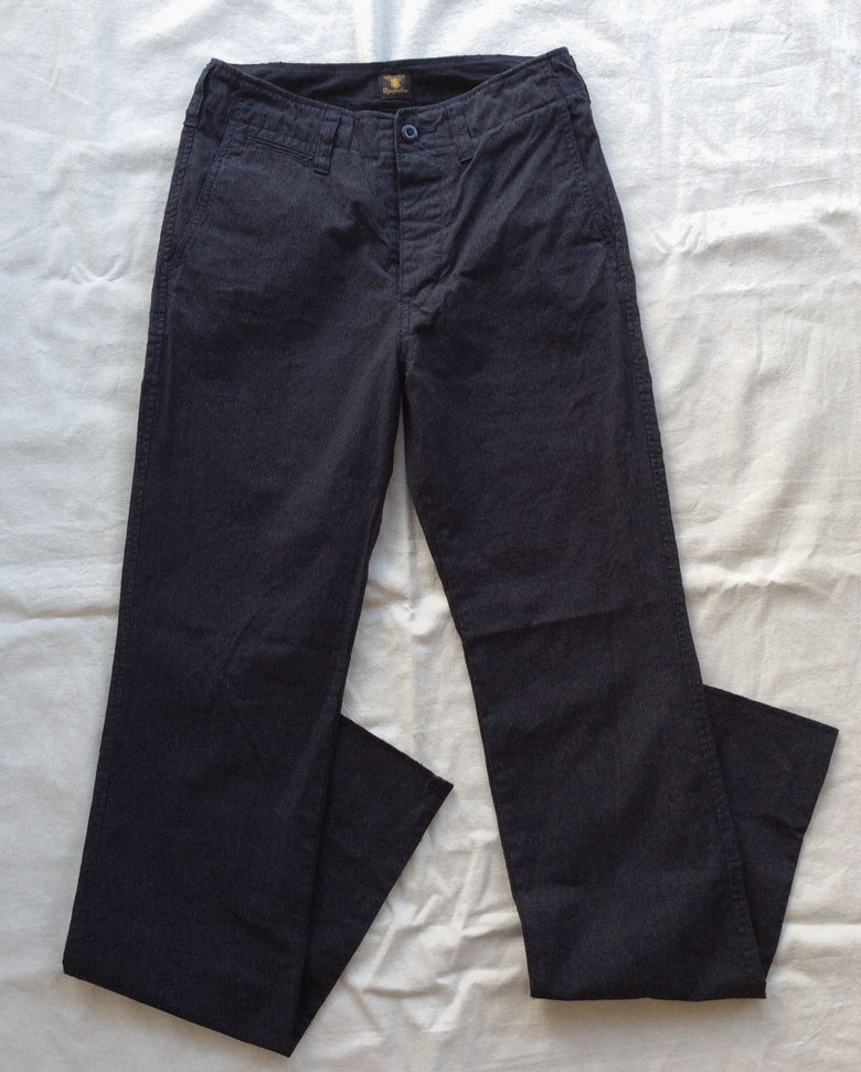 DA factory pants grey DjangoAtour
