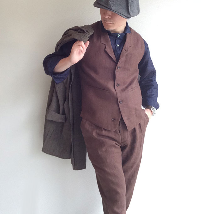 da linen waistcoat  DjangoAtour