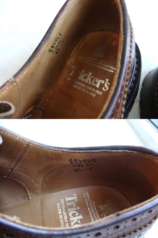 トリッカーズ革靴