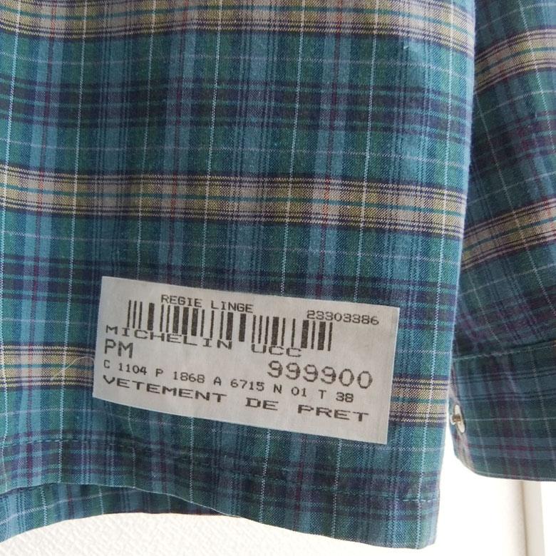 フランスミシュランのスタッフシャツ