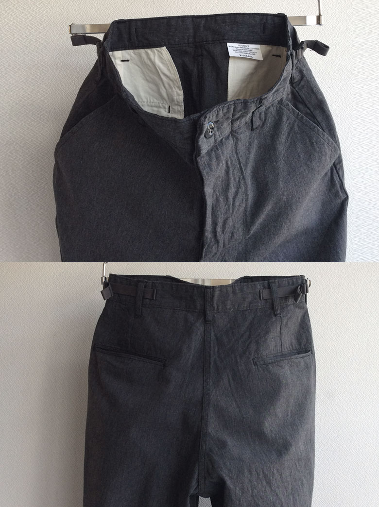 workersFWP Trousers Black Chambray