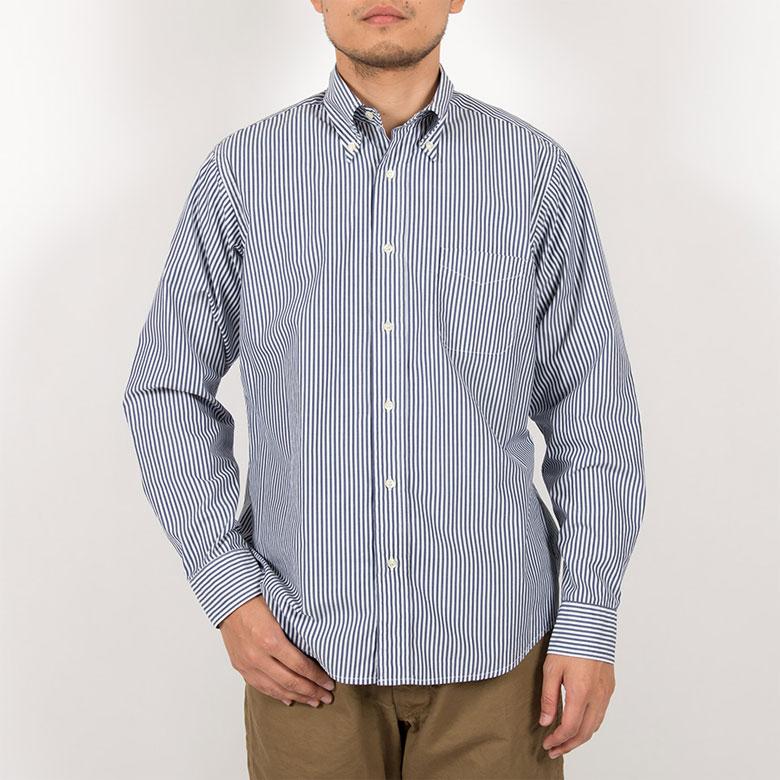 workersボタンダウンシャツ