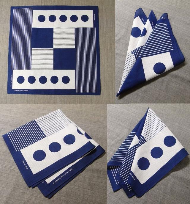 scarf bandana Blue DjangoAtour