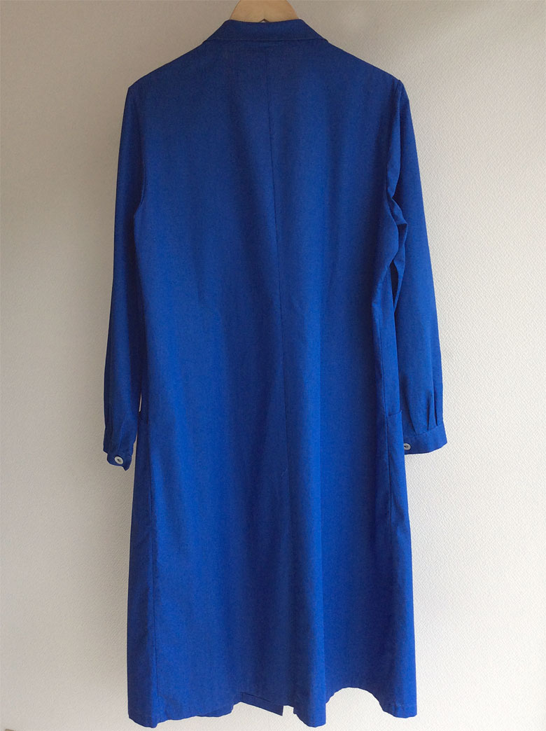 French Work Coat  Blue
