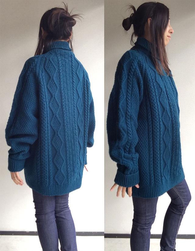 アイルランド古着のセーター