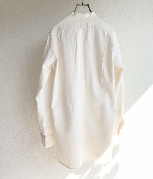 workers Band Collar Shirt