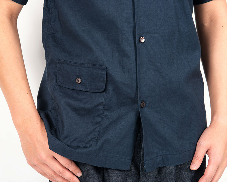 workers Open Collar Shirt